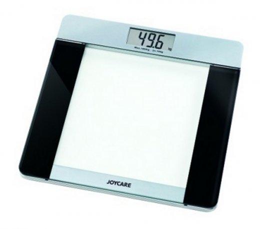 Balança Joycare Eletronica de Peso Pessoal com Plataforma de Vidro
