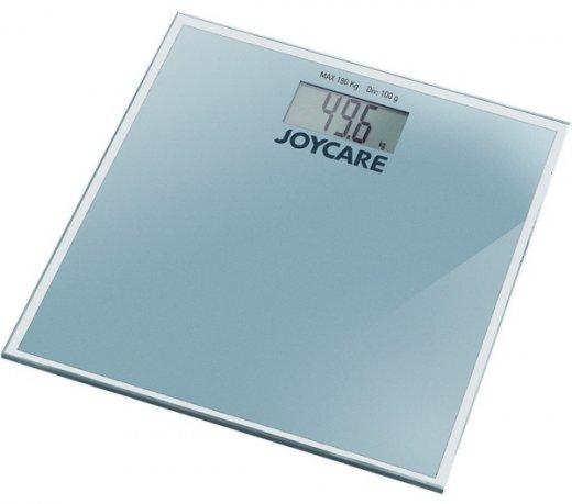Balança Digital Joycare JC-427S / Pessoal / Para Banheiro / Prata / Bateria