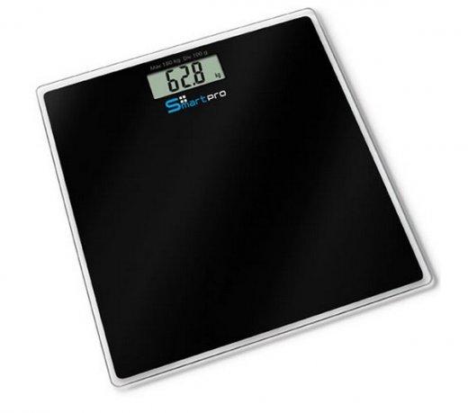 Balança Digital Techline BLK-180 / Smart Pro / Capacidade 180 Kg / Visor Digital / Preta
