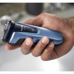 Barbeador Philips Series 1000 Bivolt Azul e Preto Seco ou Molhado