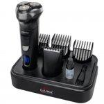 Barbeador Gama Italy GSH950 Bivolt 3 Lâminas Rotativas e Flutuantes 4 Pentes e Display de LED