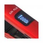 Prancha CP9 Tourmaline Ion Plus Display Digital 220°C Vermelha Bivolt