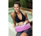 Cinta Massageadora Relax Medic RM-CM150 / Multifuncional / Bivolt / Rosa