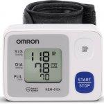 Monitor de Pressão Arterial Digital de Pulso Omron HEM 6124 Automático Branco