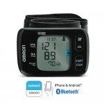 Monitor de Pressão Arterial de Pulso Omron HEM-6232T com Bluetooth CONNECT Preto