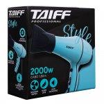 Secador de Cabelo Taiff New Style 2000W Com 3 Temperaturas Azul 127V