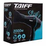Secador de Cabelo Taiff New Style 2000W Com 3 Temperaturas Preto 220V