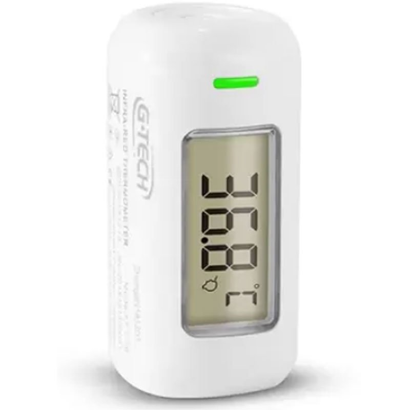 Termômetro Infravermelho Testa Ultra Compacto G-Tech GO! Branco