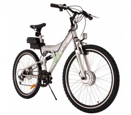 Bicicleta Elétrica Evolubike Sports / Motor de 250W / Prata / Bivolt