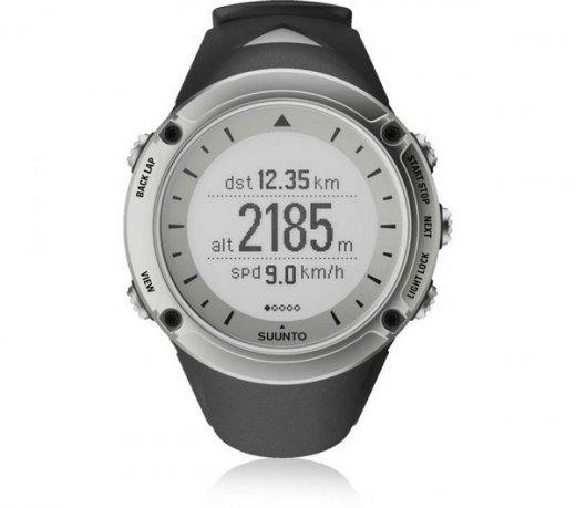 Relógio Suunto Ambit HR / Monitor Cardíaco / Prata e Preto