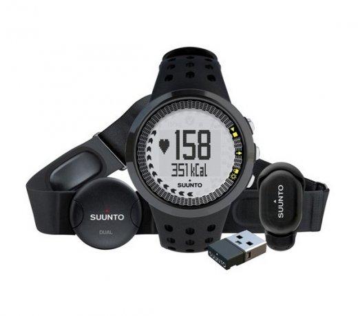 Relógio Monitor Cardíaco Suunto M5 Running Pack / Foot Pod / Movestick Mini / Preto