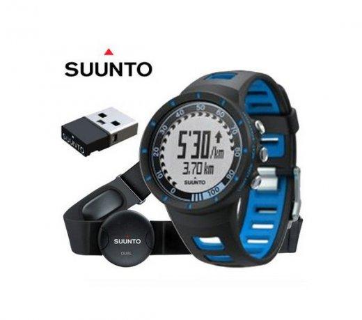 Relógio Suunto Quest Cinta Cardíaca Dual Belt Movestick Mini Monitor Cardíaco Azul