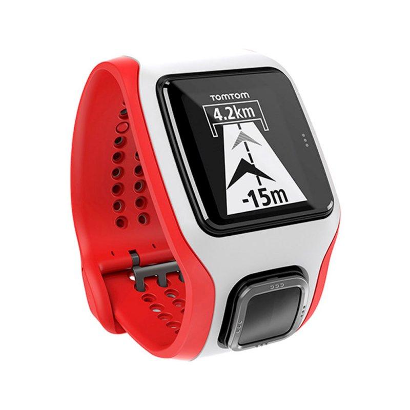 2c7f7310092 Relógio de Corrida Multi-Sport Cardio Tomtom GPS Monitor Cardíaco Embutido  e Suporte para Bike