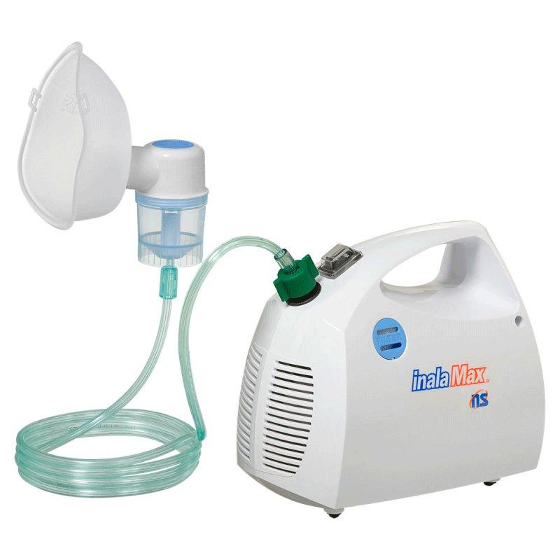 Inalador / Nebulizador NS Inalamax IM-2000 Bivolt Branco com Protetor Térmico