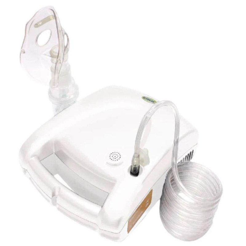 Inalador e Nebulizador NEBCOM V G-Tech Bivolt Branco