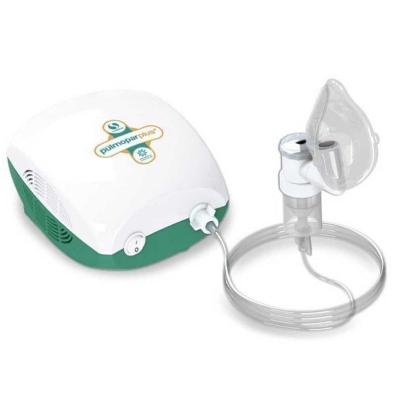 Inalador / Nebulizador Pulmopar Plus Soniclear com Controle de Névoa Bivolt