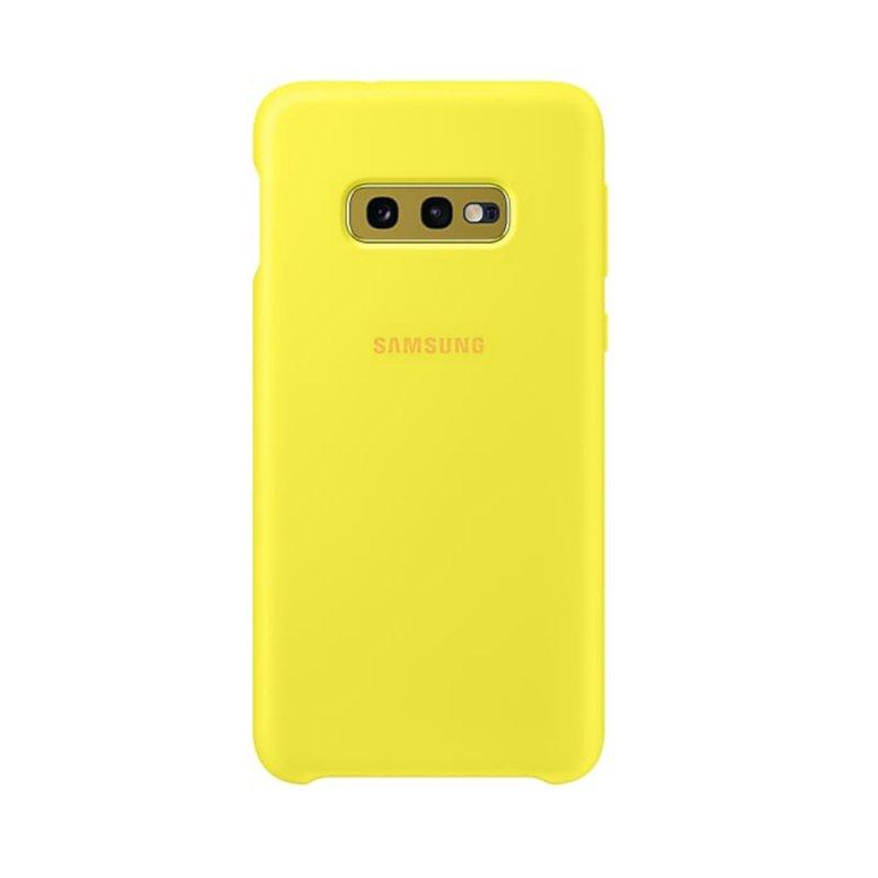 Capa Protetora Silicone Samsung S10e Amarela