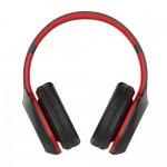 Fone de Ouvido Bluetooth Xtrax Groove Preto e Vermelho