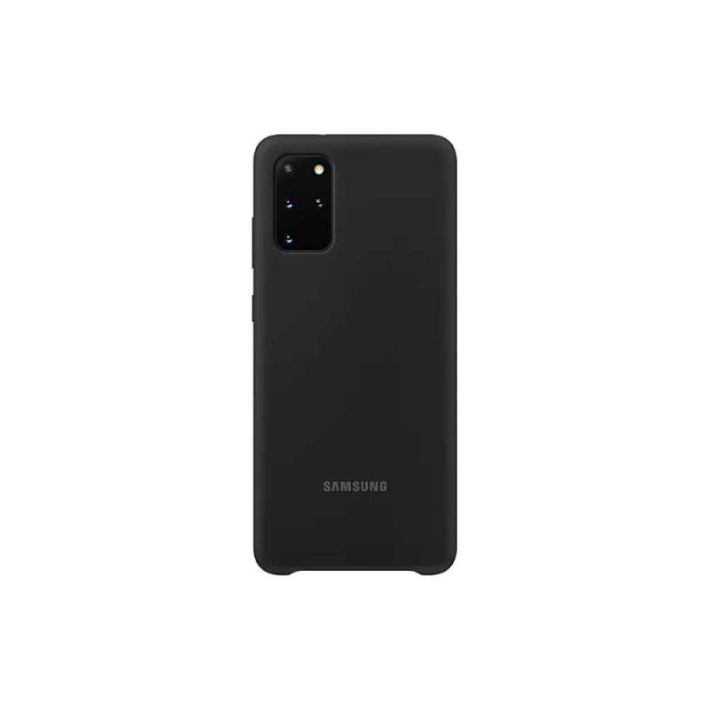 Capa Protetora Silicone Samsung S20+ Preto