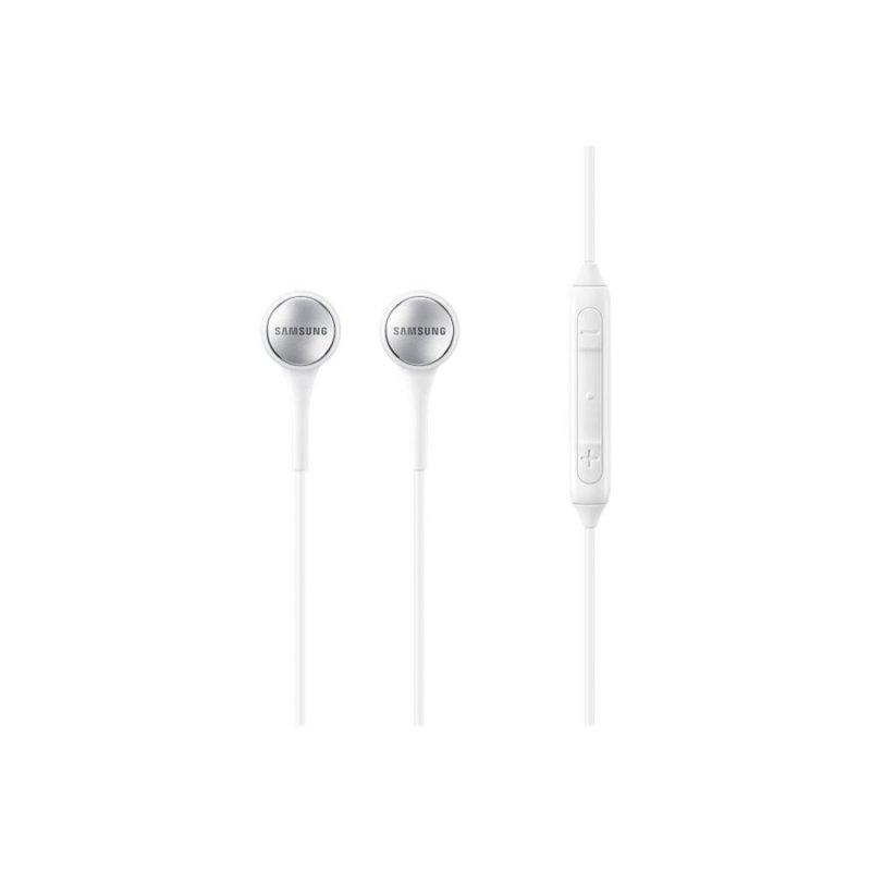 Fone de Ouvido com Microfone Estéreo Samsung IG935 Branco com Fio