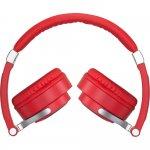 Fone de Ouvido Motorola Pulse 2 com Microfone Cabo destacável Vermelho