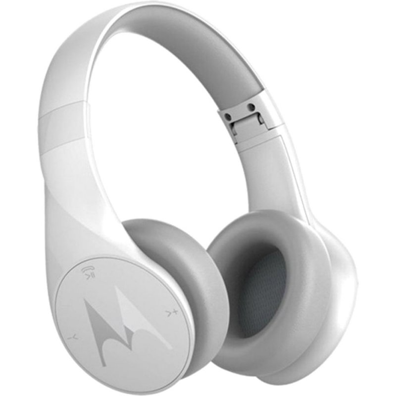 Fone de Ouvido Motorola Pulse Escape Plus - Bluetooth com Microfone e Controles Touch Branco