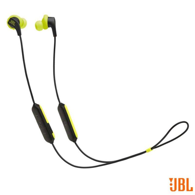 Fone de Ouvido sem fio Esportivo JBL Endurance RUNBT BNL Bluetooth À prova de Suor