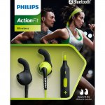 Fones de ouvido Philips esportivo Actionfit Bluetooth com microfone SHQ6500L-00