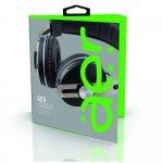 Headphone Geonav AER04BK Over-Ear Bluetooth Sem Fio Com Microfone Preto