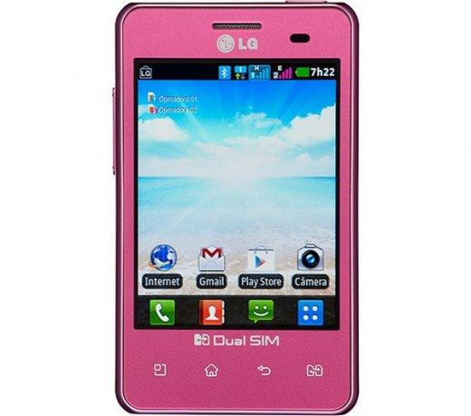 smartphone rosa lg