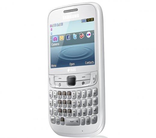 Celular Samsung Ch@t S3572 40mb Branco - Dual Chip
