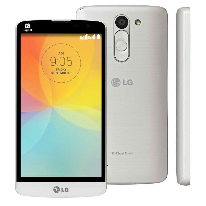 860407b4dcc Smartphone LG L Prime Desbloqueado / Android 4.4 / 3G / IPS 5/ TV Digital