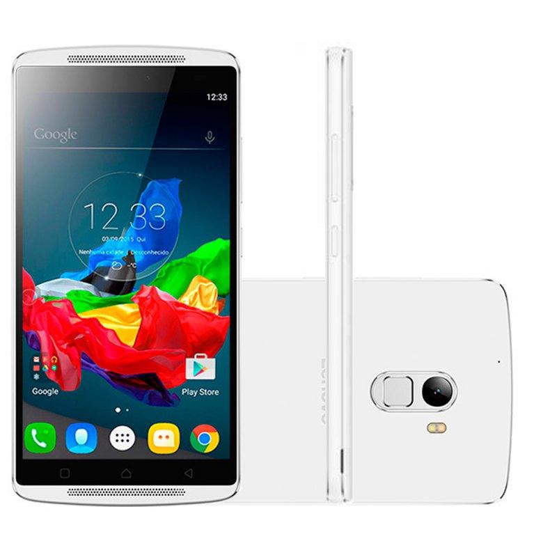 fbaff2dbb76 Smartphone Lenovo Vibe A7010 Branco 32GB Tela Full HD de 5,5