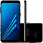 Smartphone Samsung Galaxy A8 Plus Preto Dual Chip 64GB Tela de 6 Câmera de 16MP