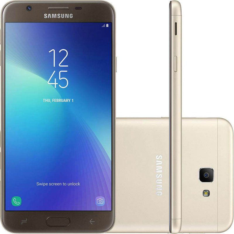 9d436aacea Smartphone Samsung Galaxy J7 Prime 2 Dourado 32GB Dual Chip com TV Digital  HD Tela 5.5