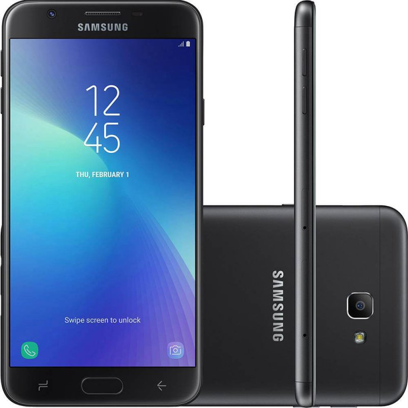 55f3b2daae Smartphone Samsung Galaxy J7 Prime 2 Preto 32GB Dual Chip com TV Digital HD  Tela 5.5