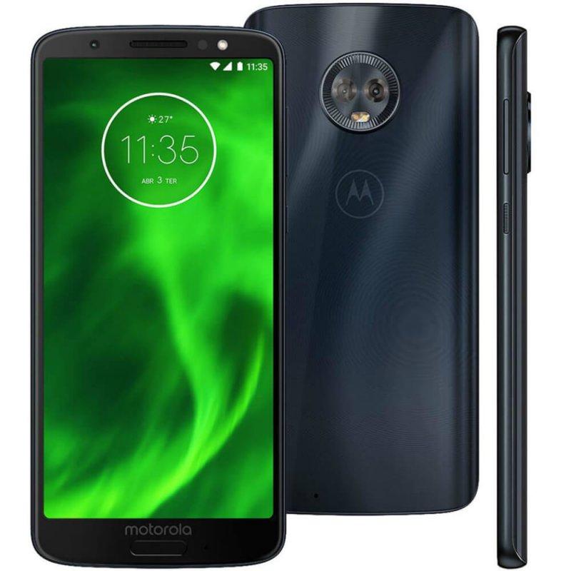 Smartphone Motorola Moto G6 Indigo DualChip 32GB Tela 5.7 Câmera Dupla 12MP e 5MP