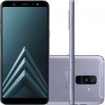 Smartphone Samsung Galaxy A6 Plus Prata Tela Infinita de 6 Câmera dupla 16MP e 5MP 64GB
