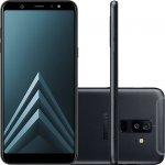 Smartphone Samsung Galaxy A6 Plus Preto Tela Infinita de 6