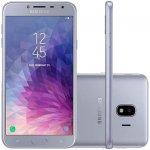 Smartphone Samsung Galaxy J4 Prata 32GB Tela de 5.5