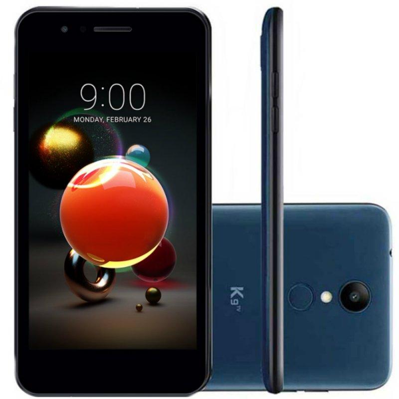 Smartphone LG K9 com TV Digital Azul 16GB Tela 5 Dual Chip Câmera 8MP