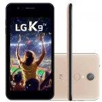Smartphone LG K9 com TV Digital Dourado 16GB Tela 5 Dual Chip Camera 8MP