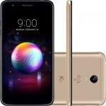 Smartphone LG K11 Plus Dourado 32GB Tela 5,3