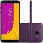 Smartphone Samsung Galaxy J6 Violeta 64GB TV Digital Tela de 5,6
