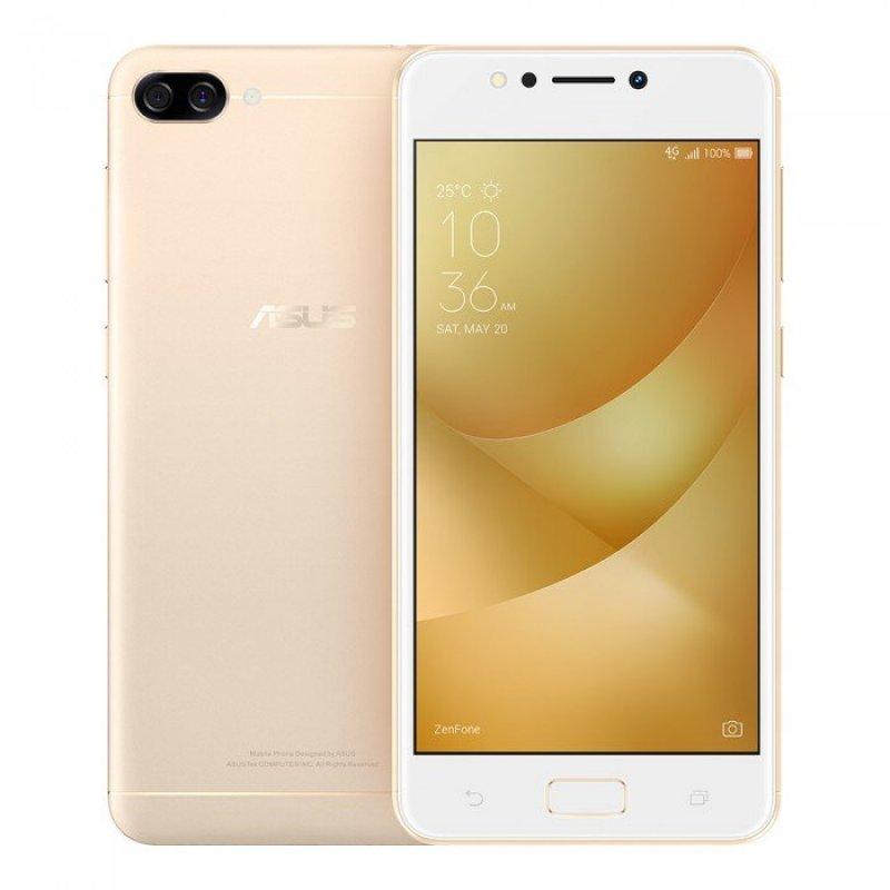 Smartphone Asus Zenfone Max M1 Dourado 32GB 2GB Tela de 5,2 Câmera Dual 13MP e 5MP Bateria 4100 mAh