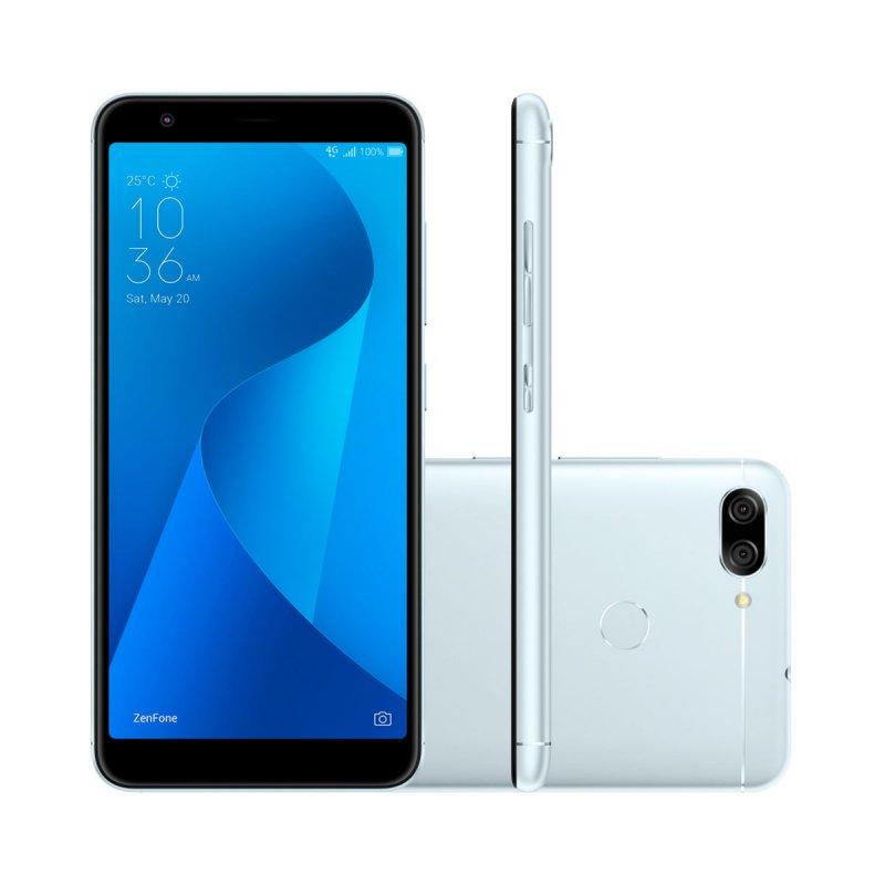 359aac3c6 Smartphone Asus Zenfone Max Plus Azul Silver 32GB Tela de 5