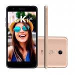 Smartphone LG K11 Alpha 32GB* 8MP com Autofoco Rápido Dourado
