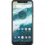 Smartphone Motorola One Preto 64GB 4GB RAM Tela de 5.9 Câmera Traseira Dupla 13MP e 2MP Dual Chip