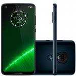 Smartphone Moto G7 Plus 64GB 4GB RAM Tela de 6.24 Câmera Traseira Dupla 16MP e 5MP Indigo