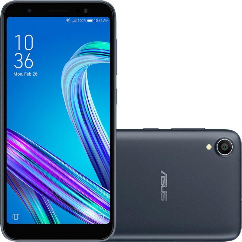 Smartphone Asus Zenfone Live L1 32GB 2GB RAM Quad Core Tela de 5.5 ´ Câmera de 13MP Preto Telefonia Preto LED Backlight IPS panel
